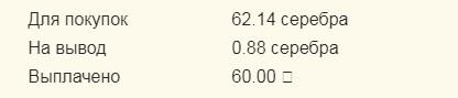 Скриншот статистики выплат профит бирдс